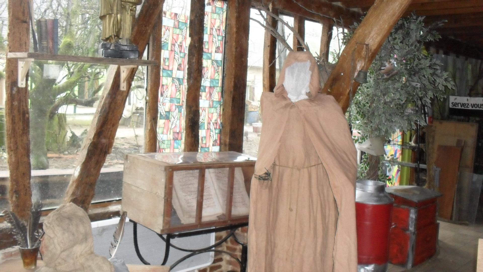 le monastère d'antan